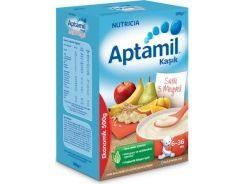 Aptamil Kaşık Sütlü 5 Meyveli Tahıl Bazlı Kaşık Maması 500 Gr