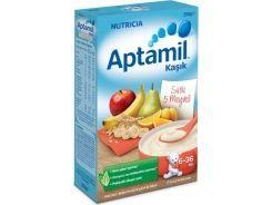 Aptamil Kaşık Sütlü 5 Meyveli Tahıl Bazlı Kaşık Maması 250 Gr