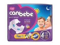 Canbebe Bebek Bezi Jumbo 4 Beden 7-14...