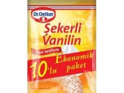 Dr. Oetker Şekerli Vanilin 10'Li 50...