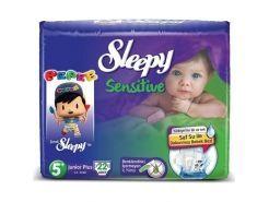 Sleepy Sensitive Bebek Bezi Junior Plus...