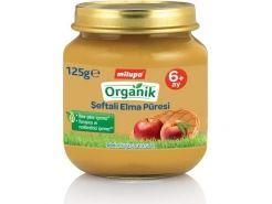 Milupa Organik Şeftali Elma Püreli...