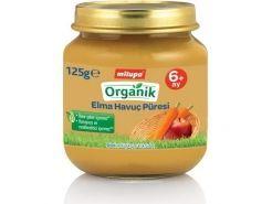 Milupa Organik Elma Havuç Püreli...
